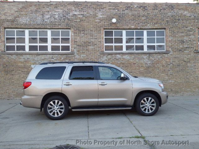 2008 Toyota Sequoia 4wd 4dr Lv8 6 Speed Automatic Ltd Suv For Sale