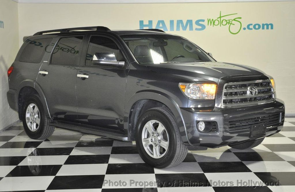 2008 Used Toyota Sequoia Rwd 4dr Lv8 6 Speed Automatic Platinum At
