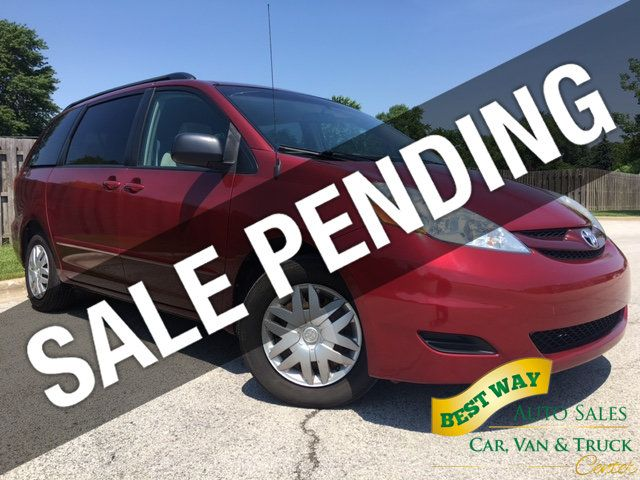 2008 Toyota Sienna LE 7-PASSENGER 3.5L V6 Privacy Glass CD Player   - 14746854 - 0