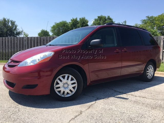 2008 Toyota Sienna LE 7-PASSENGER 3.5L V6 Privacy Glass CD Player   - 14746854 - 1