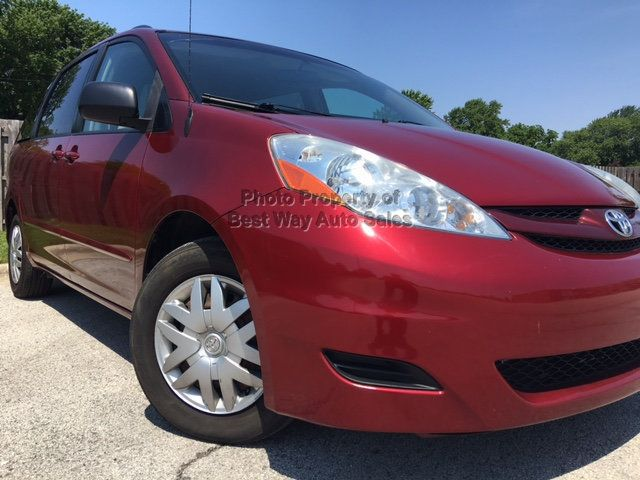 2008 Toyota Sienna LE 7-PASSENGER 3.5L V6 Privacy Glass CD Player   - 14746854 - 2