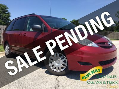 2008 Toyota Sienna LE 7-PASSENGER 3.5L V6 Privacy Glass CD Player  Savings $1,868  Van