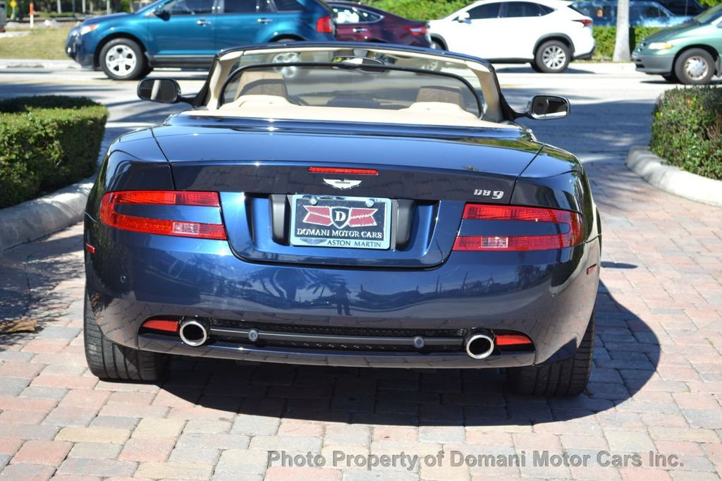 2009 Aston Martin DB9 NEW ARRIVAL! V12 Powered! Just 8566 miles!! CONVERTIBLE! - 18401768 - 9