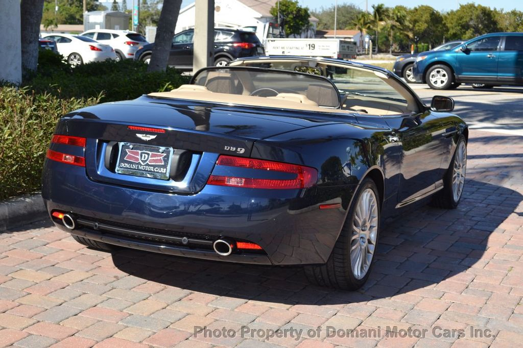 2009 Aston Martin DB9 NEW ARRIVAL! V12 Powered! Just 8566 miles!! CONVERTIBLE! - 18401768 - 10
