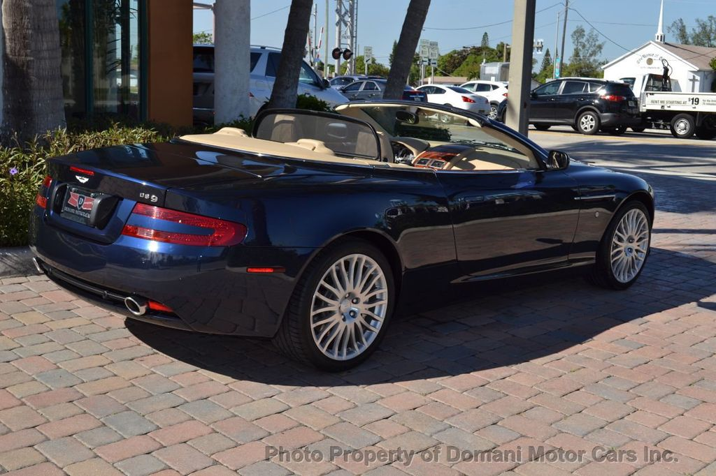 2009 Aston Martin DB9 NEW ARRIVAL! V12 Powered! Just 8566 miles!! CONVERTIBLE! - 18401768 - 11