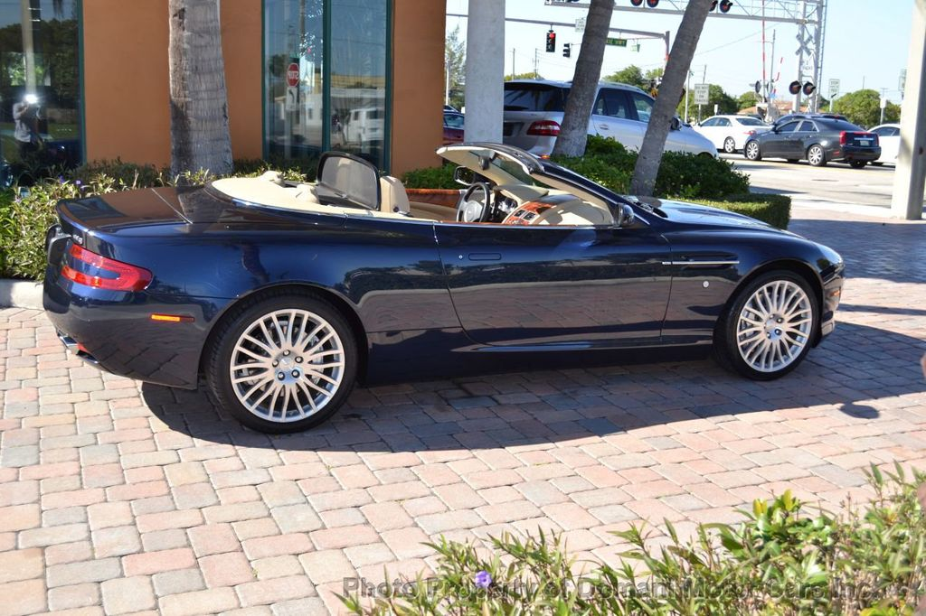 2009 Aston Martin DB9 NEW ARRIVAL! V12 Powered! Just 8566 miles!! CONVERTIBLE! - 18401768 - 12