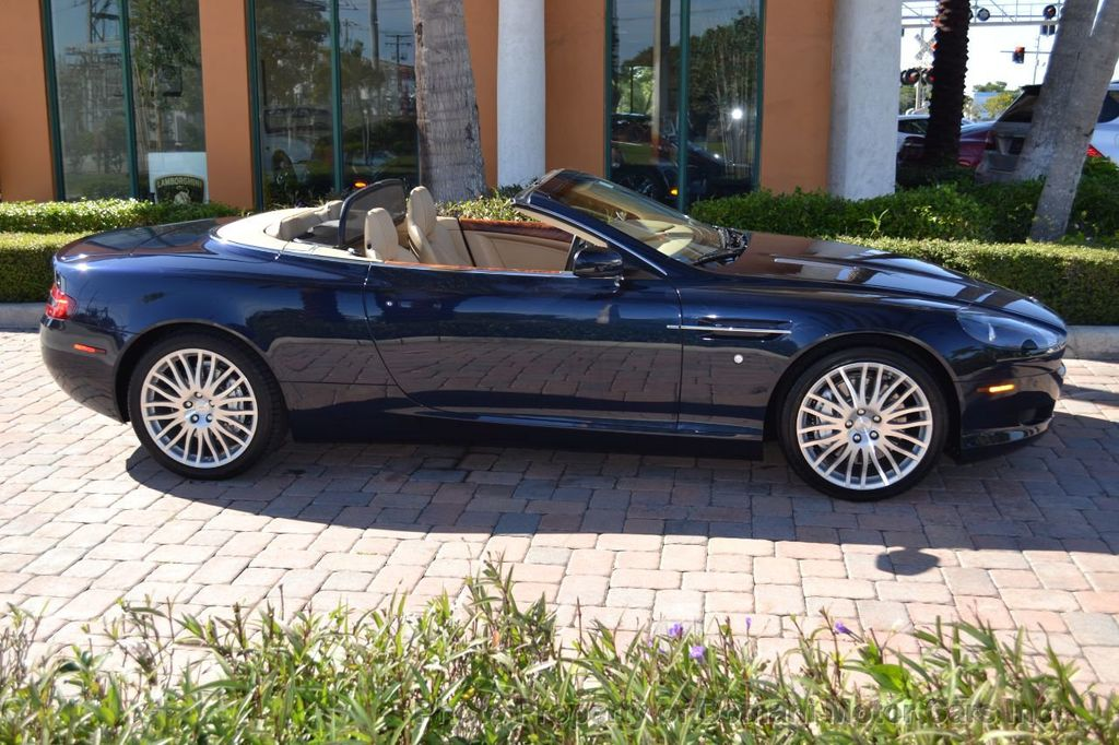 2009 Aston Martin DB9 NEW ARRIVAL! V12 Powered! Just 8566 miles!! CONVERTIBLE! - 18401768 - 13