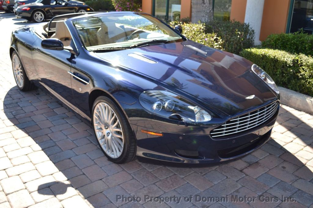 2009 Aston Martin DB9 NEW ARRIVAL! V12 Powered! Just 8566 miles!! CONVERTIBLE! - 18401768 - 15
