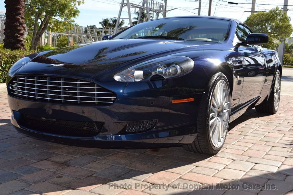 2009 Aston Martin DB9 NEW ARRIVAL! V12 Powered! Just 8566 miles!! CONVERTIBLE! - 18401768 - 1