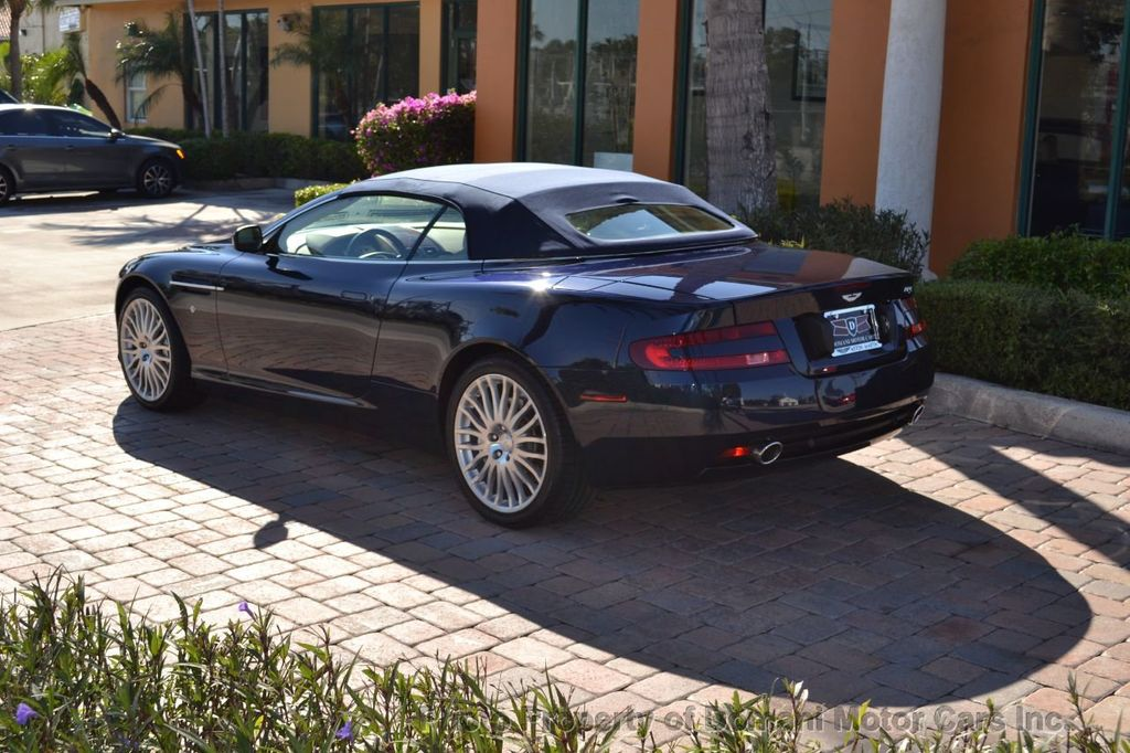 2009 Aston Martin DB9 NEW ARRIVAL! V12 Powered! Just 8566 miles!! CONVERTIBLE! - 18401768 - 22