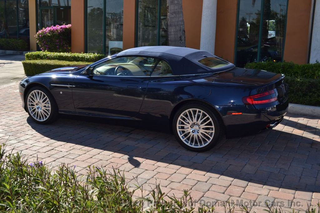 2009 Aston Martin DB9 NEW ARRIVAL! V12 Powered! Just 8566 miles!! CONVERTIBLE! - 18401768 - 23