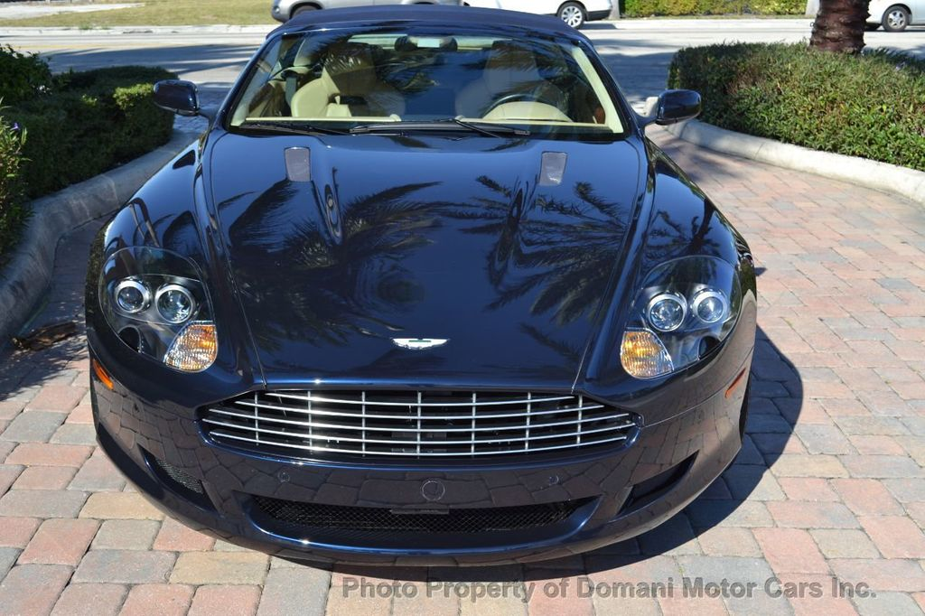 2009 Aston Martin DB9 NEW ARRIVAL! V12 Powered! Just 8566 miles!! CONVERTIBLE! - 18401768 - 28