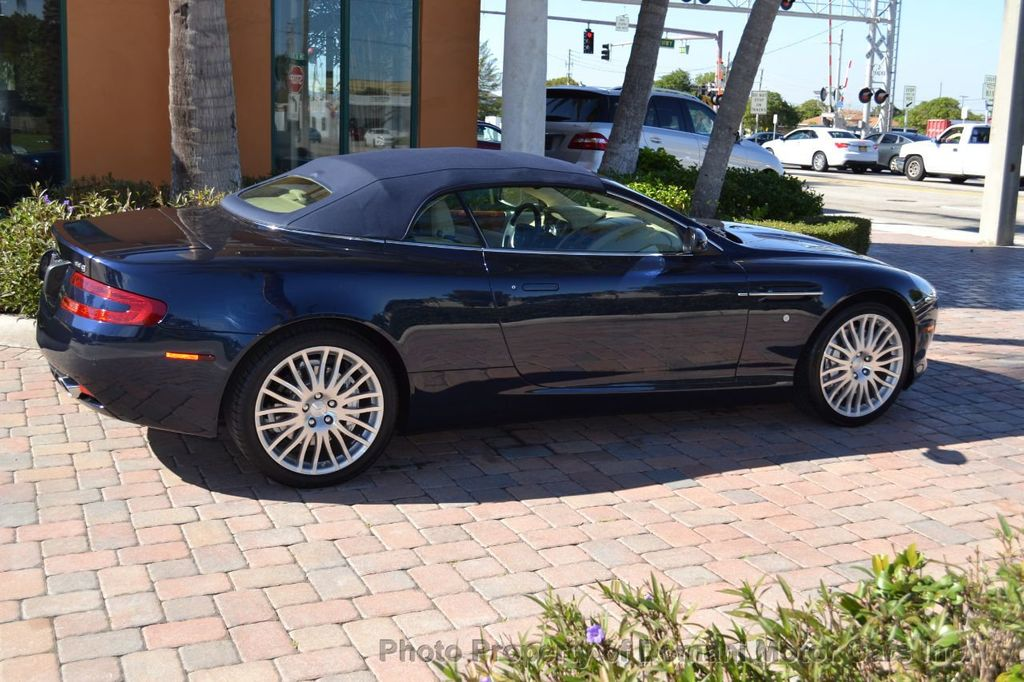 2009 Aston Martin DB9 NEW ARRIVAL! V12 Powered! Just 8566 miles!! CONVERTIBLE! - 18401768 - 31