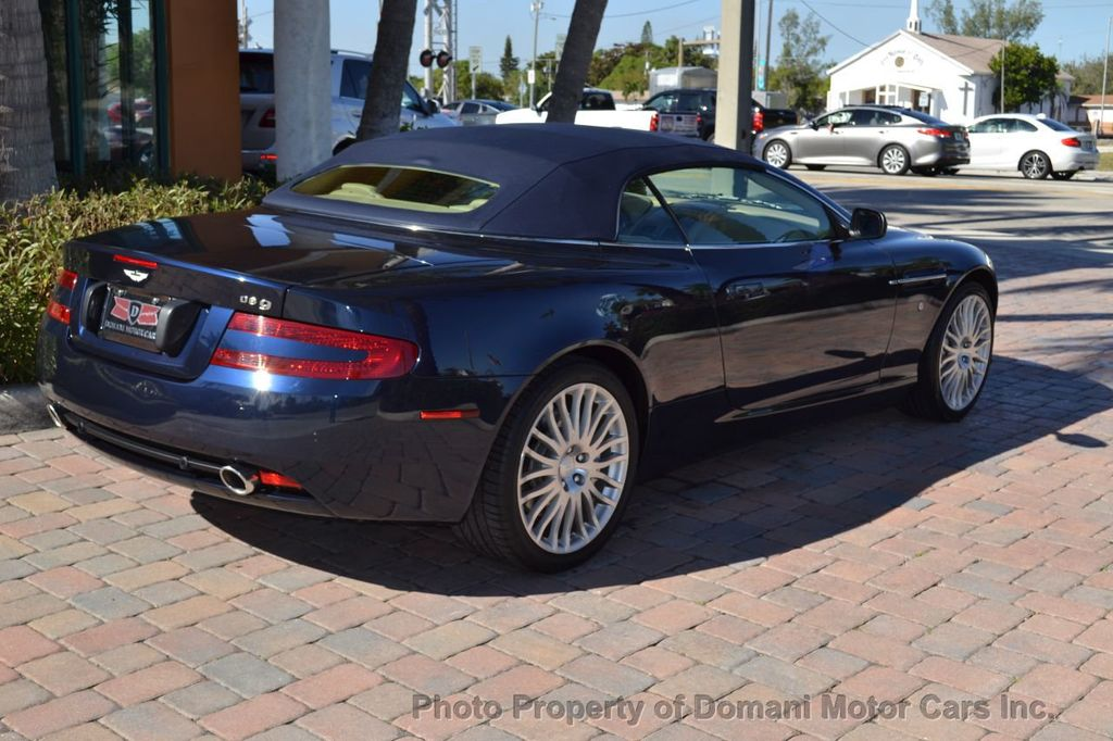 2009 Aston Martin DB9 NEW ARRIVAL! V12 Powered! Just 8566 miles!! CONVERTIBLE! - 18401768 - 32
