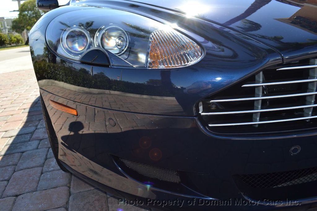 2009 Aston Martin DB9 NEW ARRIVAL! V12 Powered! Just 8566 miles!! CONVERTIBLE! - 18401768 - 34