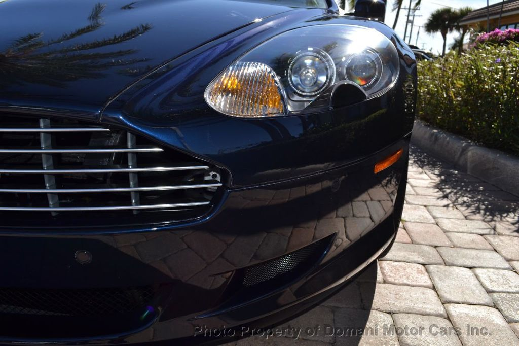 2009 Aston Martin DB9 NEW ARRIVAL! V12 Powered! Just 8566 miles!! CONVERTIBLE! - 18401768 - 35