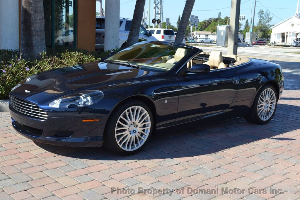 2009 Aston Martin DB9 NEW ARRIVAL! V12 Powered! Just 8566 miles!! CONVERTIBLE! - 18401768 - 4