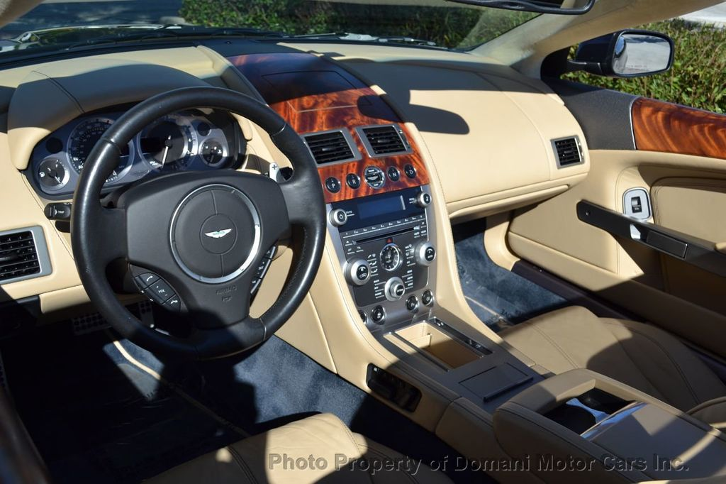 2009 Aston Martin DB9 NEW ARRIVAL! V12 Powered! Just 8566 miles!! CONVERTIBLE! - 18401768 - 55