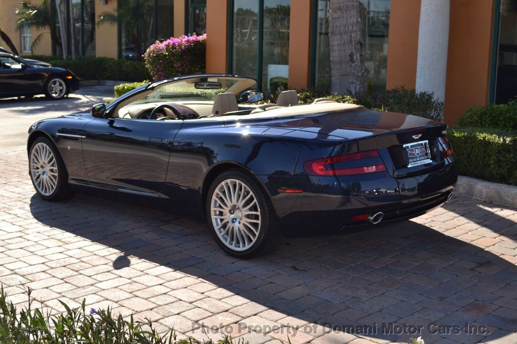 2009 Aston Martin DB9 NEW ARRIVAL! V12 Powered! Just 8566 miles!! CONVERTIBLE! - 18401768 - 5