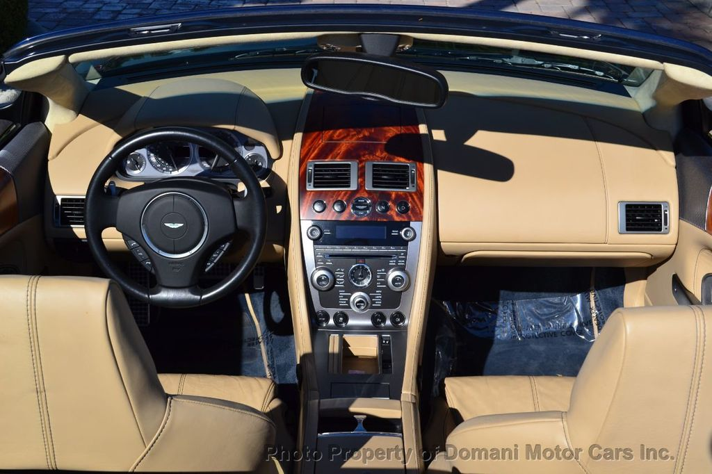 2009 Aston Martin DB9 NEW ARRIVAL! V12 Powered! Just 8566 miles!! CONVERTIBLE! - 18401768 - 57