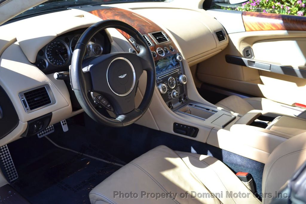 2009 Aston Martin DB9 NEW ARRIVAL! V12 Powered! Just 8566 miles!! CONVERTIBLE! - 18401768 - 58