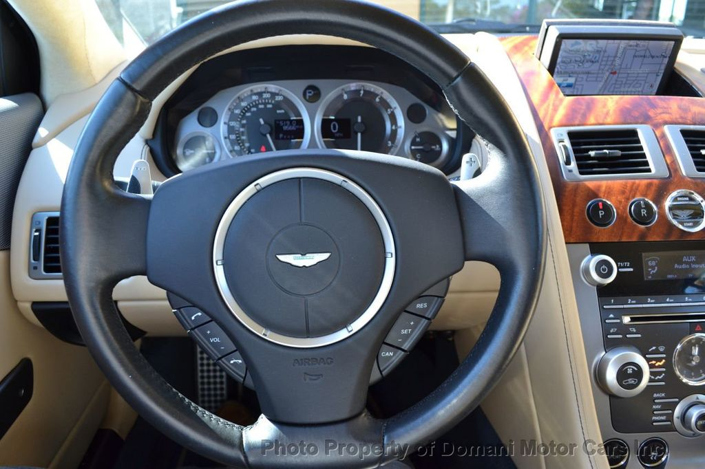 2009 Aston Martin DB9 NEW ARRIVAL! V12 Powered! Just 8566 miles!! CONVERTIBLE! - 18401768 - 65