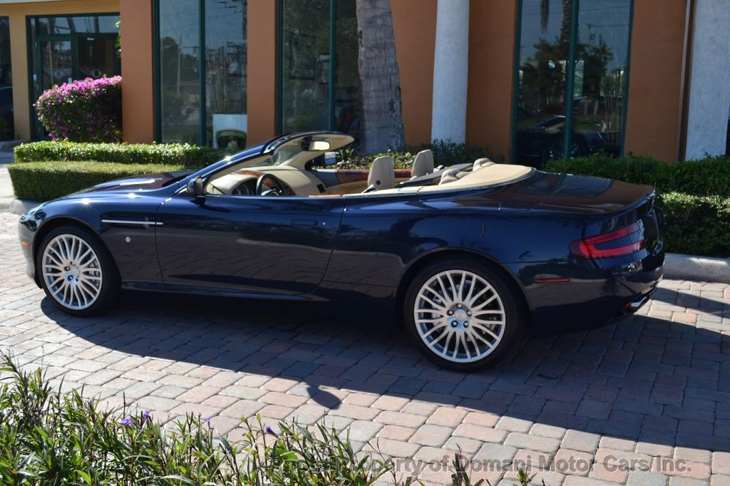 2009 Aston Martin DB9 NEW ARRIVAL! V12 Powered! Just 8566 miles!! CONVERTIBLE! - 18401768 - 6