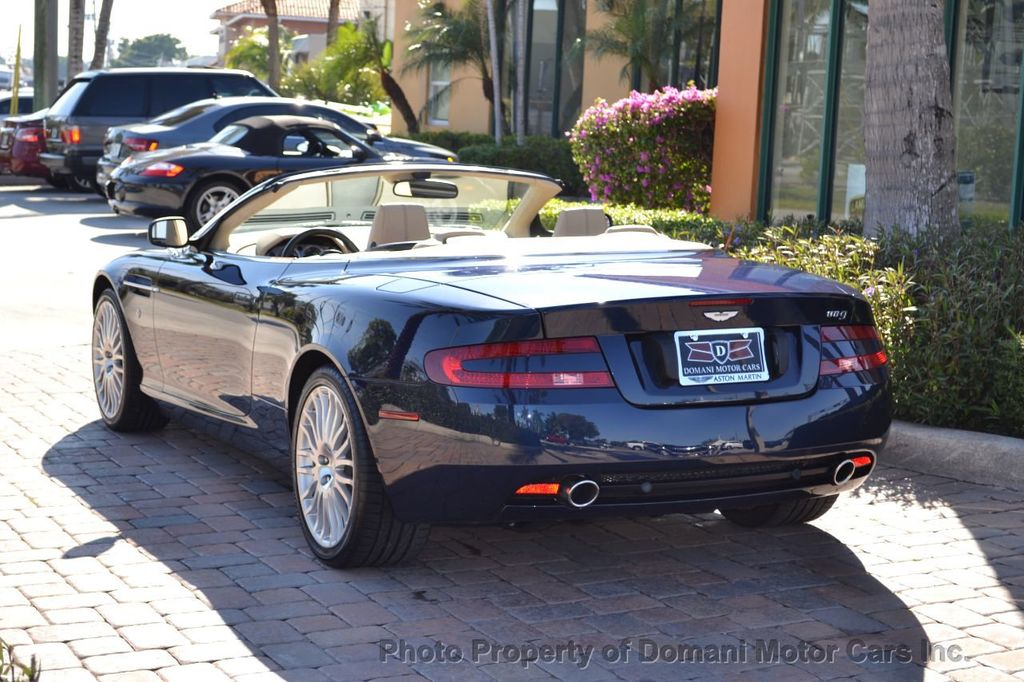 2009 Aston Martin DB9 NEW ARRIVAL! V12 Powered! Just 8566 miles!! CONVERTIBLE! - 18401768 - 7