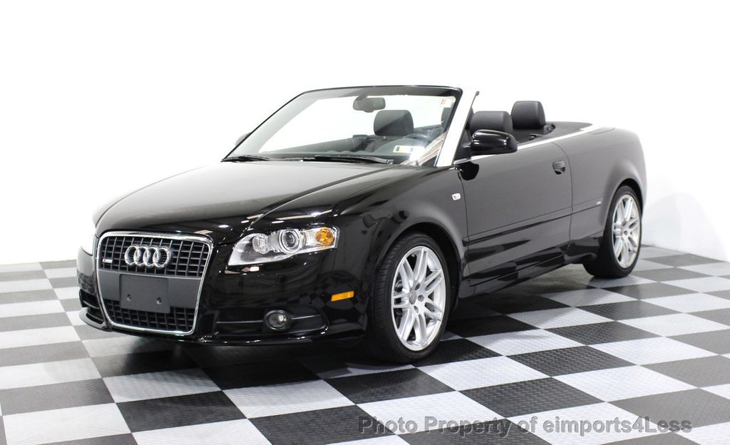 2009 Audi A4 CERTIFIED A4 2.0T S-LINE CABRIOLET - 16902059 - 0