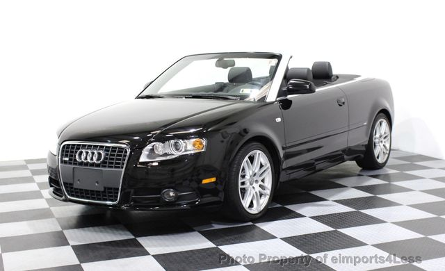 2009 Audi A4 Certified 2 0t S Line Cabriolet 16902059 0