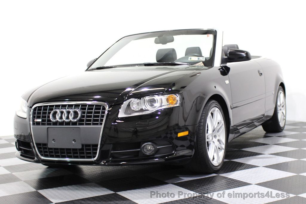 2009 Audi A4 CERTIFIED A4 2.0T S-LINE CABRIOLET - 16902059 - 11