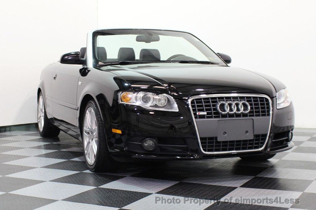 2009 Audi A4 CERTIFIED A4 2.0T S-LINE CABRIOLET - 16902059 - 12