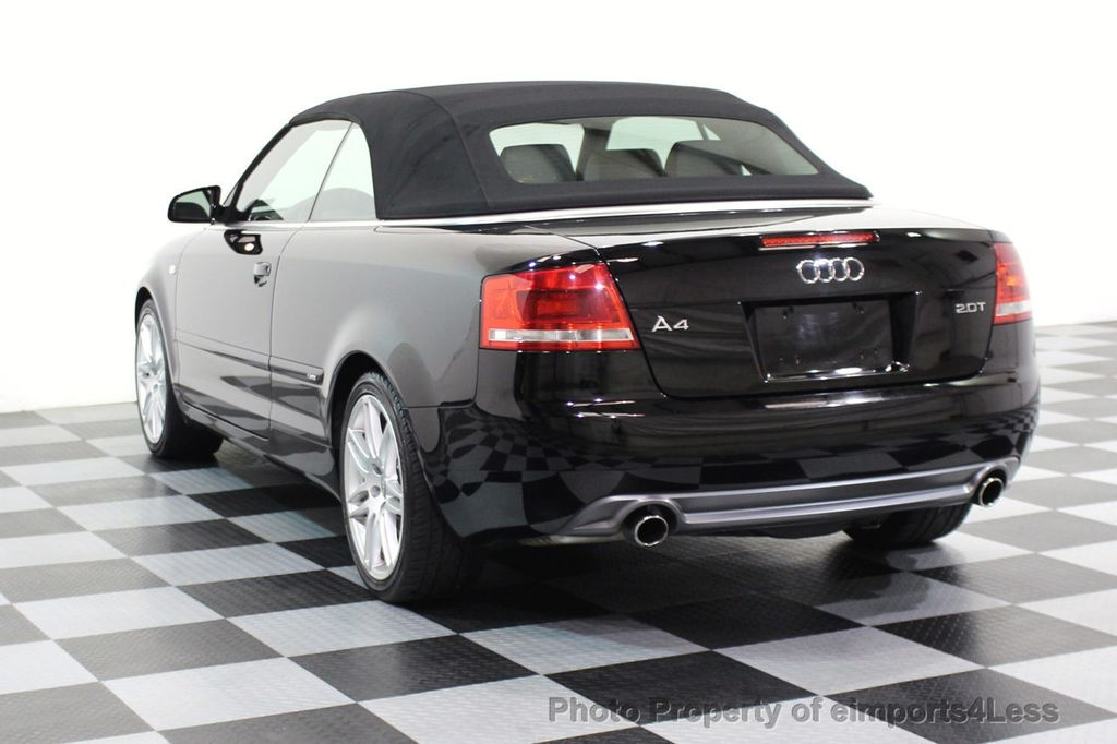 2009 Audi A4 CERTIFIED A4 2.0T S-LINE CABRIOLET - 16902059 - 13