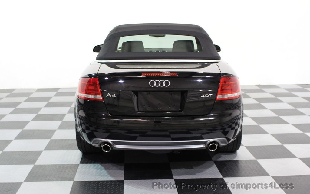 2009 Audi A4 CERTIFIED A4 2.0T S-LINE CABRIOLET - 16902059 - 14