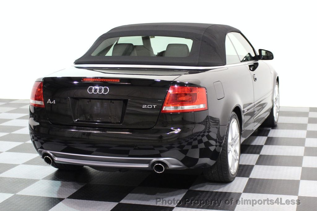 2009 Audi A4 CERTIFIED A4 2.0T S-LINE CABRIOLET - 16902059 - 15