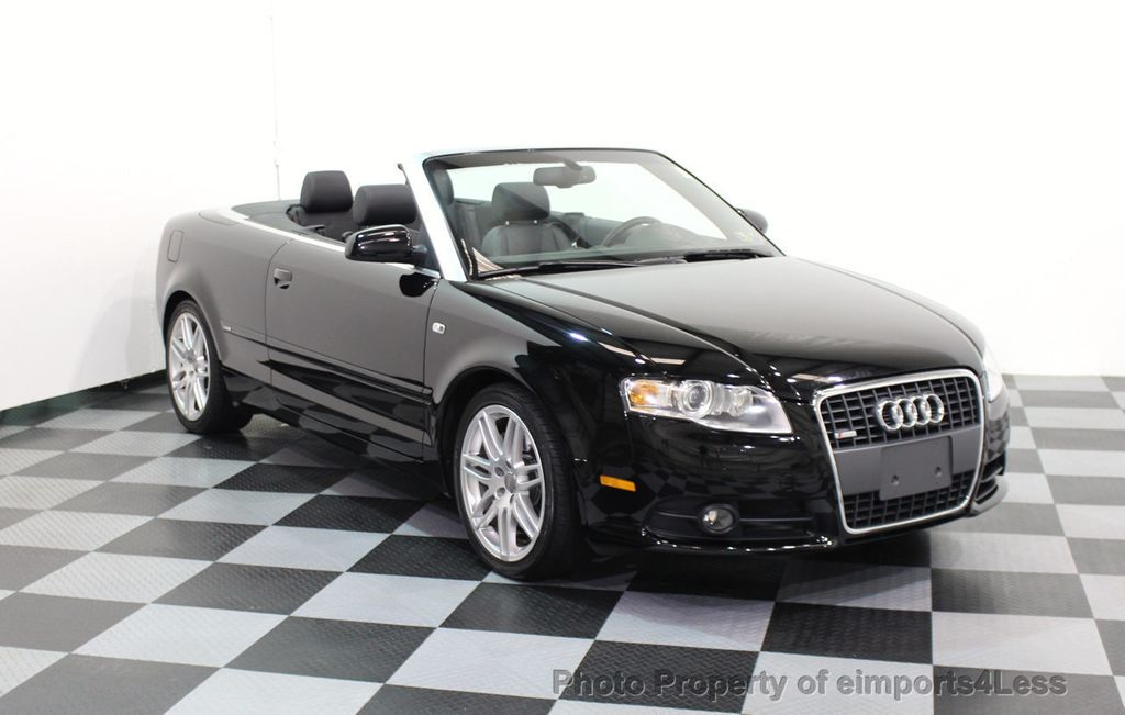 2009 Audi A4 CERTIFIED A4 2.0T S-LINE CABRIOLET - 16902059 - 27