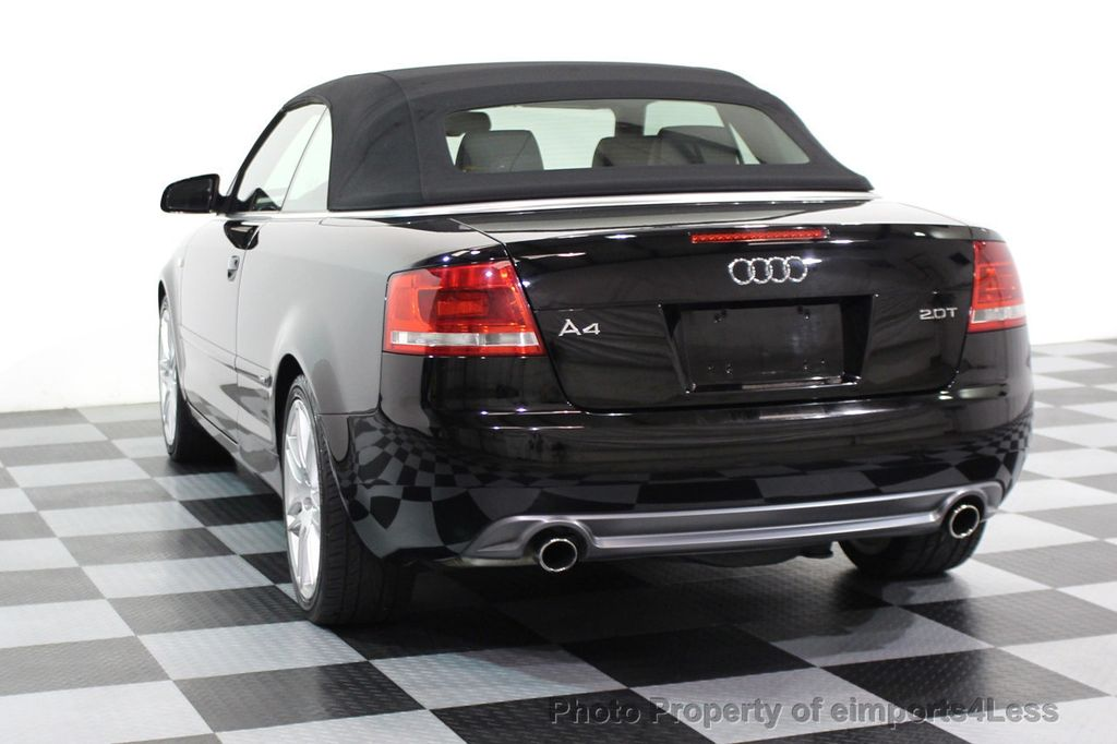 2009 Audi A4 CERTIFIED A4 2.0T S-LINE CABRIOLET - 16902059 - 28