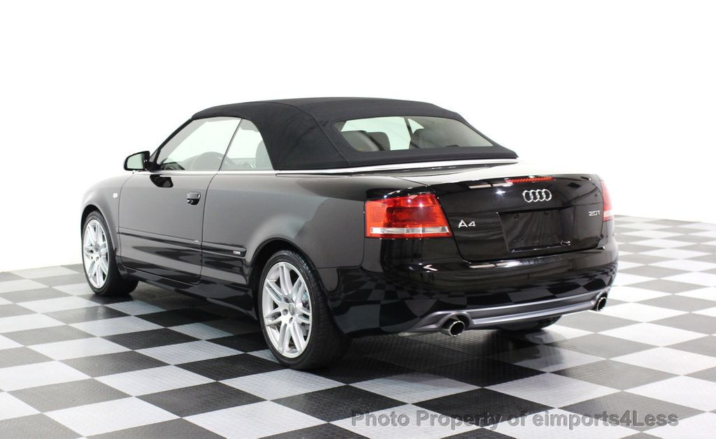 2009 Audi A4 CERTIFIED A4 2.0T S-LINE CABRIOLET - 16902059 - 2