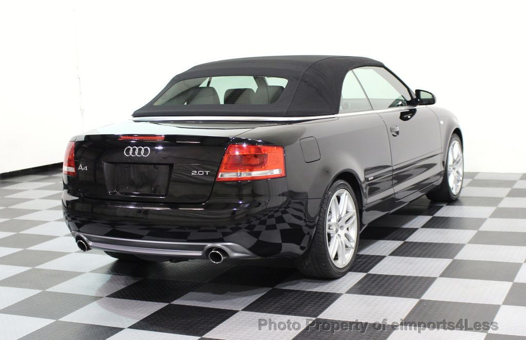 2009 Audi A4 CERTIFIED A4 2.0T S-LINE CABRIOLET - 16902059 - 3
