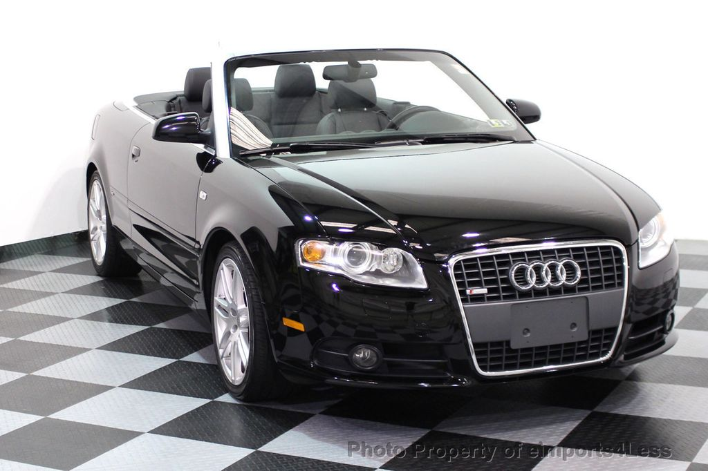 2009 Audi A4 CERTIFIED A4 2.0T S-LINE CABRIOLET - 16902059 - 43