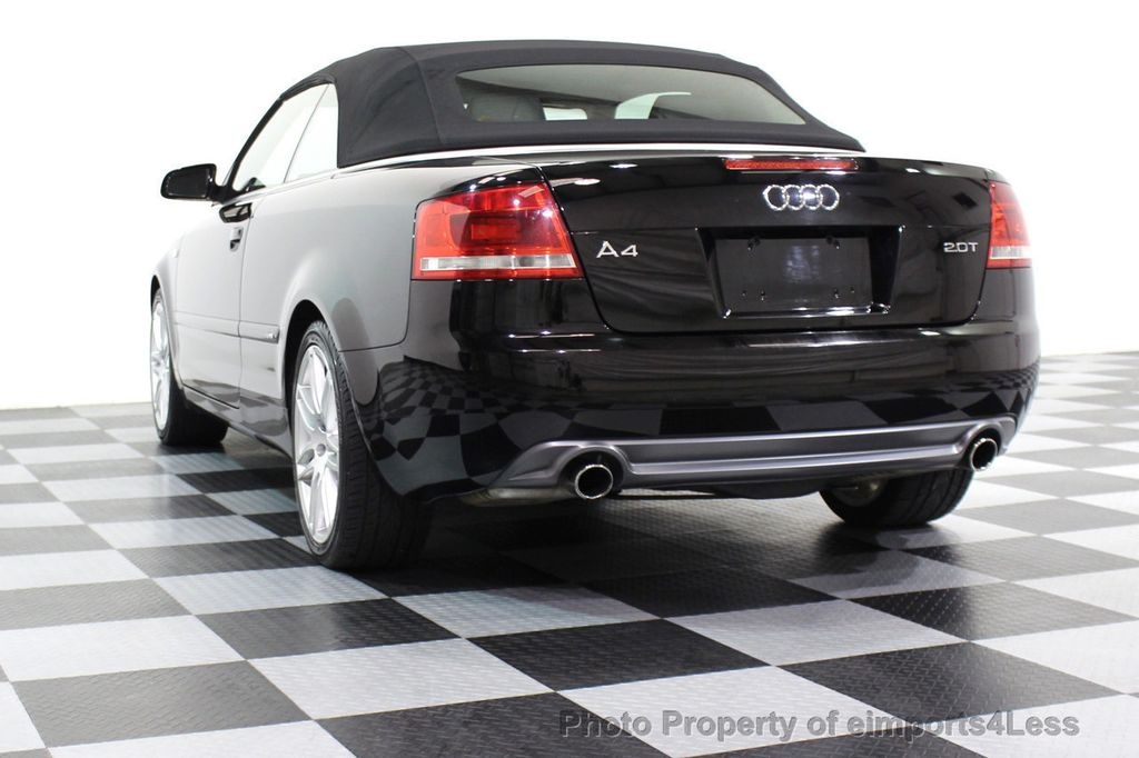 2009 Audi A4 CERTIFIED A4 2.0T S-LINE CABRIOLET - 16902059 - 44