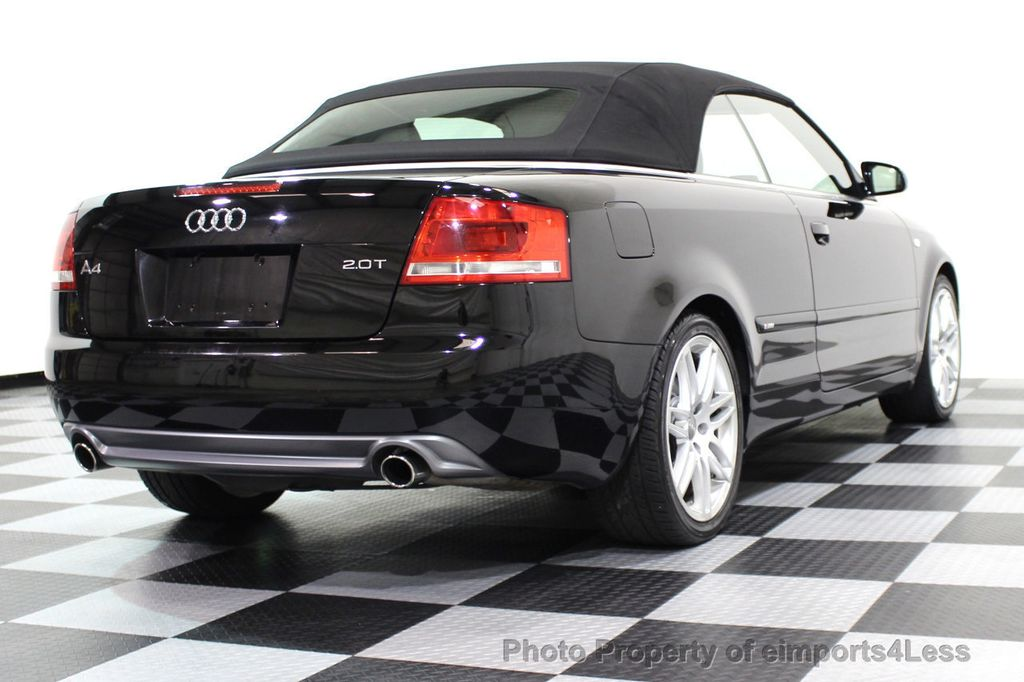 2009 Audi A4 CERTIFIED A4 2.0T S-LINE CABRIOLET - 16902059 - 45