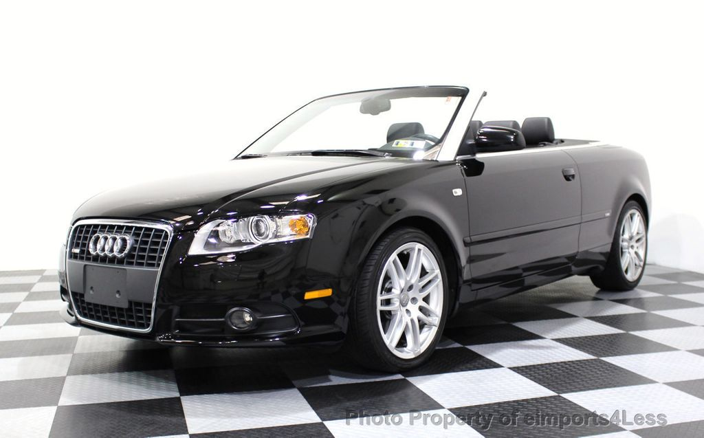 2009 Audi A4 CERTIFIED A4 2.0T S-LINE CABRIOLET - 16902059 - 46