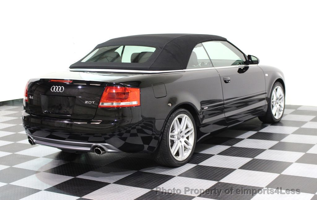 2009 Audi A4 CERTIFIED A4 2.0T S-LINE CABRIOLET - 16902059 - 47