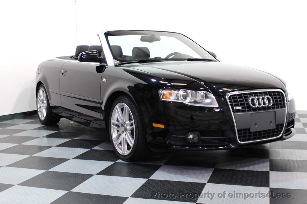 2009 used audi a4 certified a4 2 0t s line cabriolet at. Black Bedroom Furniture Sets. Home Design Ideas