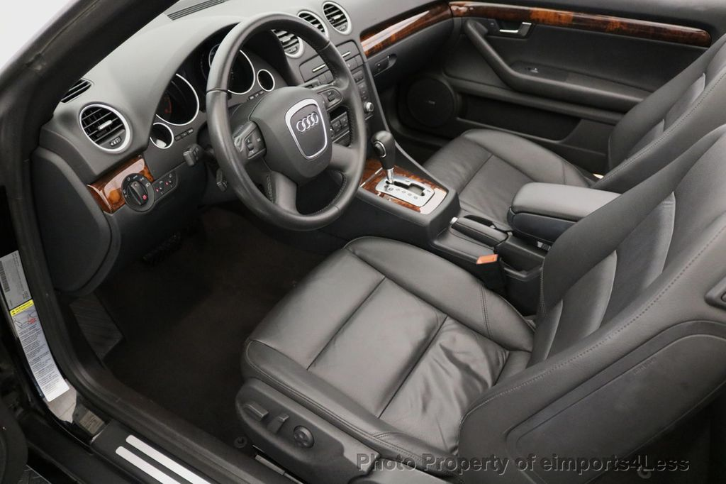2009 Audi A4 CERTIFIED A4 2.0T S-LINE CABRIOLET - 16902059 - 5