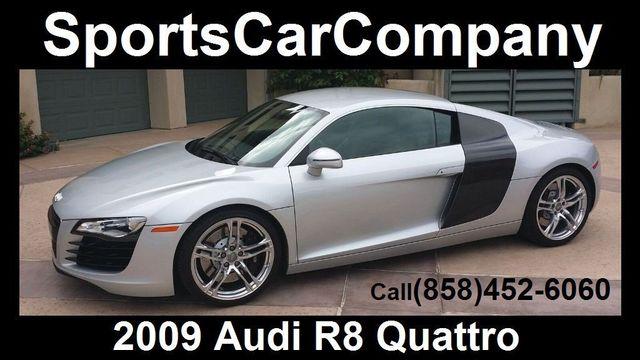 2009 Audi R8 QUATTRO R8 QUATTRO 6 SPEED