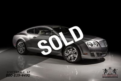 2009 Bentley Continental GT 2dr Coupe