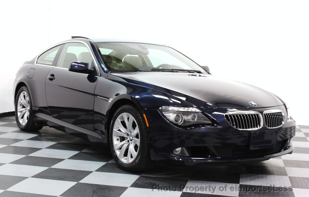 2009 used bmw 6 series certified 650i v8 coupe at. Black Bedroom Furniture Sets. Home Design Ideas