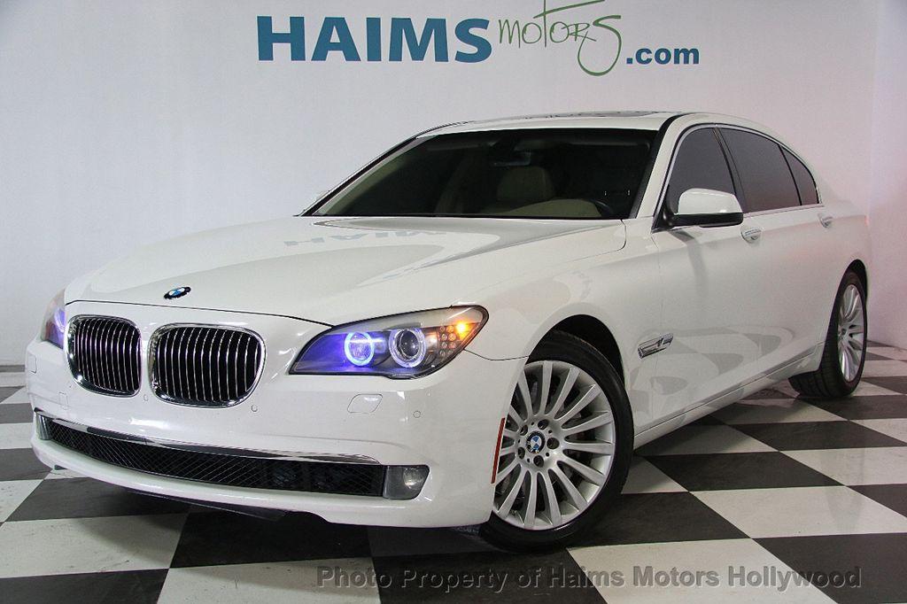 2009 Used BMW 7 Series 750Li at Haims Motors Serving Fort Lauderdale ...